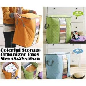 Storage Bag Storage Box Tempat Penyimpanan Pakaian selimut bed cover