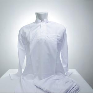 BAJU KOKO DEWASA SETELAN PAKISTAN Celana Gamis Pria Muslim Putih