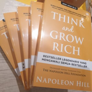 Think And Grow Rich - Cover Baru (Napoleon Hill)