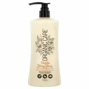 Organic Care Body Wash Vanilla Ylang Ylang 725 ml