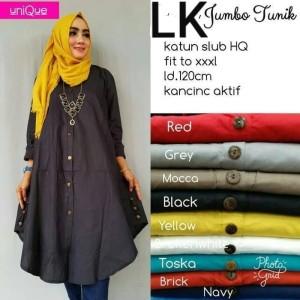 Baju Muslim Tunik LK Gamis katun good quality