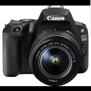 kamera canon 200D kit 18-55mm f/3.5-5.6