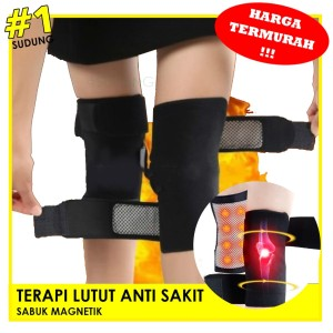 Sabuk Terapi Pemanas Lutut Nyeri - Magic Theraphy Heating Knee Pad