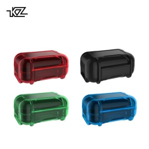 Case KZ ABS Earphone Storage Box / Case ABS Resin Ori - Biru