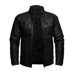 Jaket Motor Pria Bahan Karlit Import (seperti kulit asli)