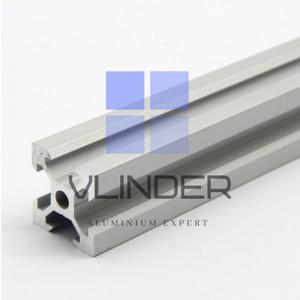 V Slot 2020 Alumunium CNC Track Matte Silver