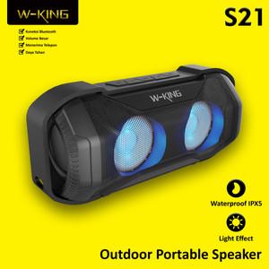 Speaker Bluetooth Outdoor Portable Speakers WKING Waterproof IPX5