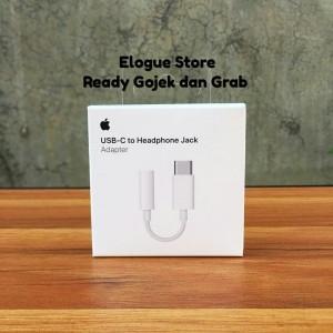 Adapter USB Type C to Jack 3.5mm Audio Macbook Ipad Pro Earphone ORI