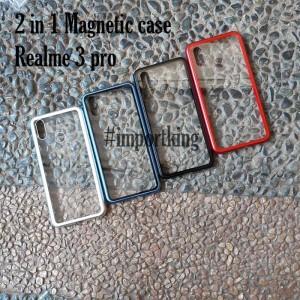 Realme 3 pro Premium 2 in 1 magnetic phone case realme 3 pro