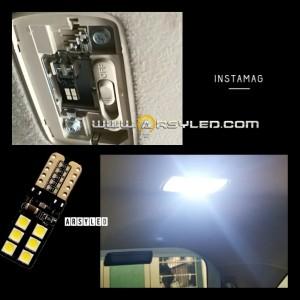 Lampu LED T10 Plafon Kabin Mobil Honda Mobilio Brio 3030 12 Extrime