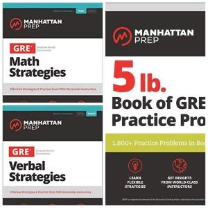Paket 3 Buku Manhattan Prep GRE 3rd Edition