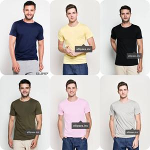 Tumblr Tee / T-Shirt / Kaos Pria Lengan Pendek Polos - Putih