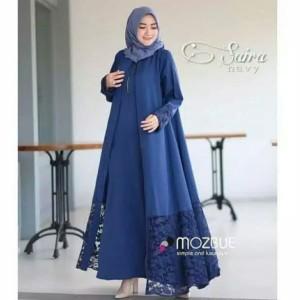 Pakaian Baju Busana Muslim Wanita SAIRA ABAYA BRUKAT Gamis Terbaru