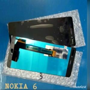 LCD NOKIA LUMIA 6 TOUCHSCREEN HITAM ORI TA-1021 TA-1033