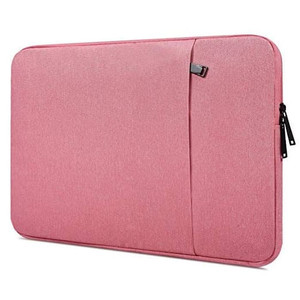 Tas Laptop / Softcase Nylon 13 inch Sleeve Case- pink- dark blue