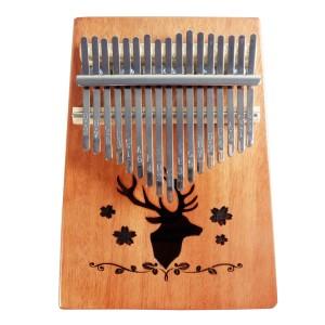Kalimba 17 Keys Thumb Piano Jari Mbira K17F