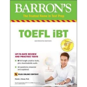 Buku Barron's TOEFL IBT 16th Edition with CD
