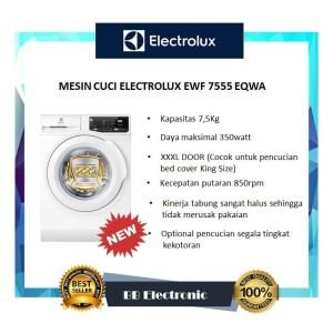 MESIN CUCI ELECTROLUX EWF 7555 EQWA / EWF7555 EQWA / EWF 7555EQWA