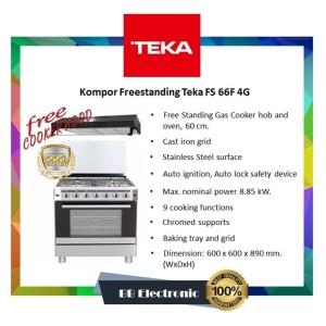 Kompor Freestanding Teka FS 66F 4G