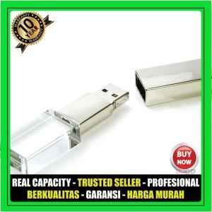 USB Flashdisk Crystal fdspc26 kapasitas 4GB Garansi - Souvenir Promosi