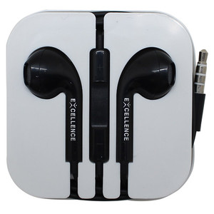 Headset/Handsfree Excellence Universal Stereo Sparrow High Quality - Hitam