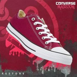Sepatu Converse ALL Star Warna Maroon
