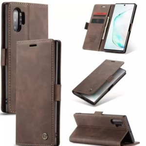 Flip Cover Samsung galaxy note 10 Plus 10+ Wallet Leather Case Dompet