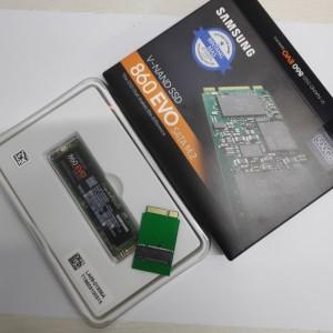 Paket Adapter SSD Macbook Air 2012 - Early 2013 Samsung Evo 860 500Gb