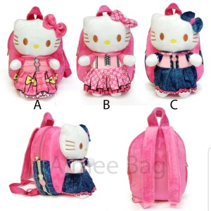 "Tas Ransel Hello Kitty 10"" / 10 in Preschool / Playgroup / KB / TK"