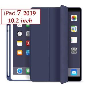 Ipad 7 2019 10.2 inch Slot Pen Flip Book Cover Autolock Case Casing