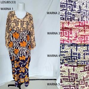 Long Dress Jumbo Baju Daster Pakaian Tidur Batik Pekalongan 5