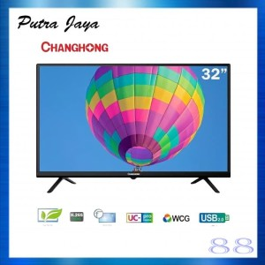 CHANGHONG LED TV 32 INCH L32G3 USB HDMI SLIM BEZZEL
