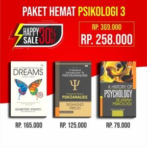Promo Paket Buku Psikologi The Interpretation of Dreams Tafsir Mimpi