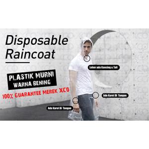 Jas Hujan Plastik - XCO rain coat - model ponco - lusinan