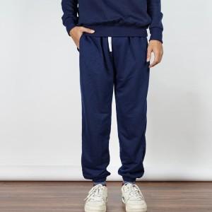 Jogger Pants Celanapanjang Training Sweatpants BiruNavy Bigsize Unisex