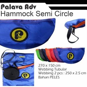 Ayunan Hammock semi-circle + webbing tubular