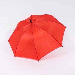 Payung tongkat polos / gagang bengkok / sablon promosi / GRC - 75009