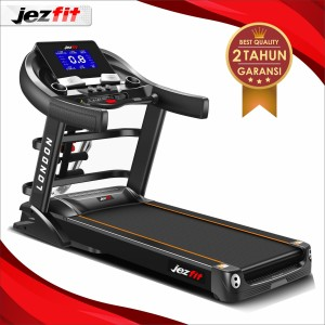 Alat Fitness Treadmill Elektrik Jezfit London Treadmill Electric 3,5hp