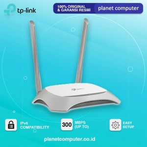 WIRELESS TP-LINK TL-WR840N 300MBPS ROUTER