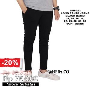 Celana Jeans Panjang Pensil Pria Celana Jeans panjang Cowok