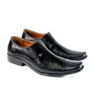 sepatu pantofel asli kulit ( tipe : 319 )