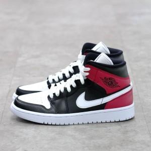 Nike Air Jordan 1 Mid Noble Red 100% Authentic