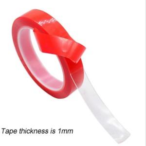 Double Sided Tape Doubel Tape 15mm * 3m Transparan Bening Perekat Lem