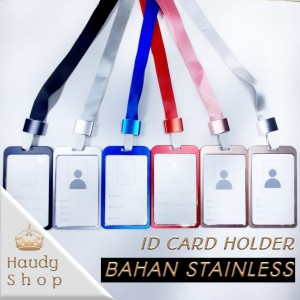 ID CARD HOLDER / ID CARD STAINLESS / NAME TAG / GANTUNGAN NAMA