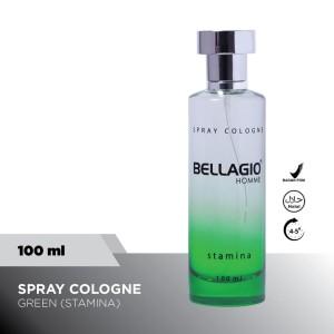 Bellagio Spray Cologne Stamina (Green, 100ml)