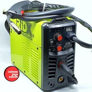 Ridx MIGi MIG MAG 130 A 130A Mesin Las Co2 Flux Core Gasless SS Besi