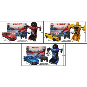 MAINAN MOBIL REMOTE CONTROL TRANSFORMER DEFORMATION AUTOBOTS 1:12 837
