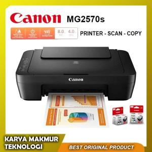 CANON PIXMA MG2570S / MG 2570S Printer Scan Copy Garansi Resmi