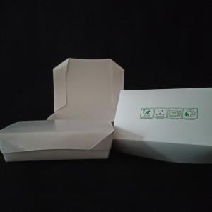 Paper lunch box M/food grade.
