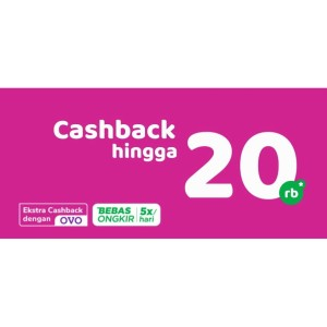 PROMO CashBack Gratis ONGKIR